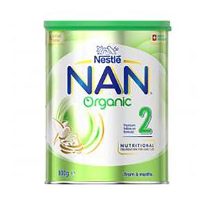 Nestle NAN 有机雀巢能恩幼儿配方奶粉2段 800g(6罐包邮)
