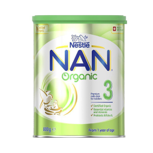 Nestle NAN 有机雀巢能恩幼儿配方奶粉3段 800g (6罐包邮)