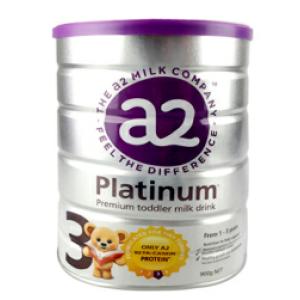 【新西兰直邮包邮】A2白金婴儿奶粉 3 段 6罐/箱(新包装)(保质期至 2021年8月)