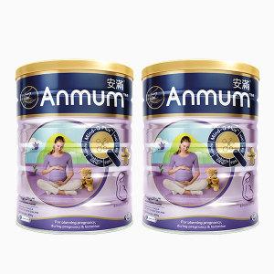 【新西兰直邮包邮】Anmum 安满孕妇奶粉 800g/罐  两罐装 (2021年11月)