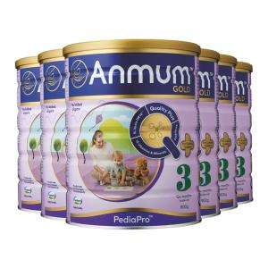 【新西兰直邮包邮】安满3段婴儿配方 奶粉 900克/罐 6罐(2022年9月)