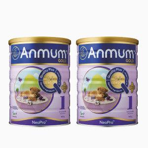 【新西兰直邮包邮】安满1段婴儿配方 奶粉 900克/罐 两罐装(2022年4月)