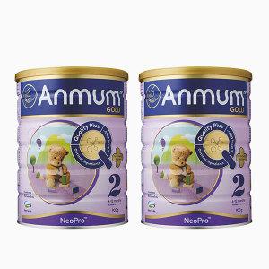 【新西兰直邮包邮】安满2段婴儿配方 奶粉 900克/罐 两罐装(2022年4月)