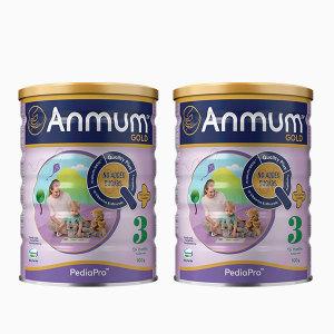 【新西兰直邮包邮】安满3段婴儿配方 奶粉 900克/罐 两罐装(2022年9月)