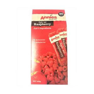 Annies  覆盆子&苹果 水果糕 10g * 20