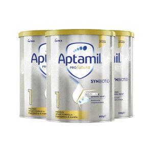 【新西兰直邮包邮】Aptamil 爱他美铂金奶粉 1 段 ( 3罐包邮)(保质期至 2022年11月)