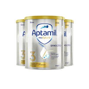 【新西兰直邮包邮】Aptamil 爱他美铂金奶粉 3 段 (3罐包邮)(保质期至 2023年2月)