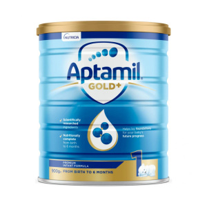 【新西兰直邮包邮】Aptamil 爱他美婴儿牛奶粉 1 段 6罐/箱(保质期至 2021年10月)