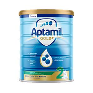 【新西兰直邮包邮】Aptamil 爱他美婴儿牛奶粉 2 段 6罐/箱(保质期至 2021年2月)