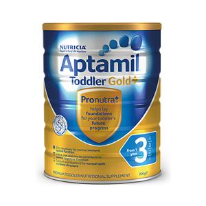 【新西兰直邮包邮】Aptamil 爱他美婴儿牛奶粉 3 段 6罐/箱(保质期至 2021年2月)