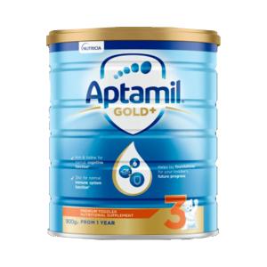 【新西兰直邮包邮】Aptamil 爱他美婴儿牛奶粉 3 段 6罐/箱(保质期至 2021年12月)