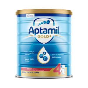 【新西兰直邮包邮】Aptamil 爱他美婴儿牛奶粉 4 段 ( 3罐包邮)(保质期至 2021年10月)