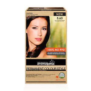 Aromaganic 5.63 纯天然染发膏染发剂 5.63度 浓巧克力棕