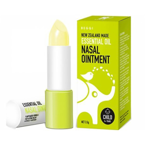 BEGGI 鼻精灵麦卢卡精油通鼻膏 舒缓鼻塞 儿童外涂式 2岁以上 3.5g