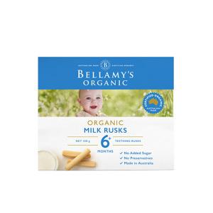 Bellamy's贝拉米有机婴幼儿牛奶磨牙饼干