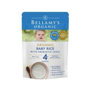 Bellamy's 贝拉米有机纯米粉 4个月 125g