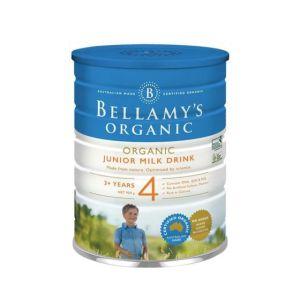 【新西兰直邮包邮】Bellamy's 贝拉米婴儿有机奶粉4段*3罐 适合3岁以上宝宝