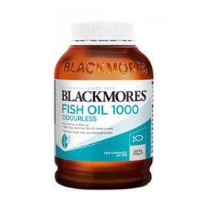 Blackmores 无味深海鱼油 1000mg 400粒