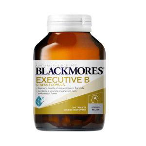 Blackmores 澳佳宝 加强版维生素B压力缓解片 160片