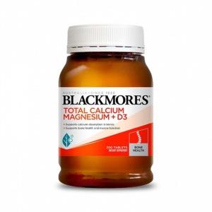 Blackmores 钙镁D3  预防骨质疏松 200片