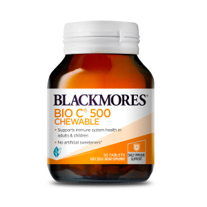Blackmores 活性维生素C500咀嚼片 50片