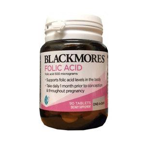 Blackmore Folic Acid  澳佳宝孕妇叶酸90片