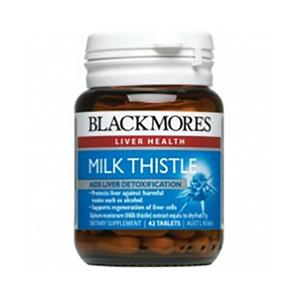 Blackmores 奶蓟草护肝片 Milk Thistle 42片