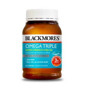 Blackmores 三倍浓缩无腥味深海鱼油 150粒