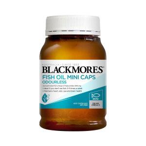 Blackmores 澳佳宝 无腥味深海鱼油迷你胶囊400粒