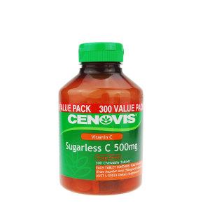 Cenovis 圣诺天然维生素c咀嚼片 300粒
