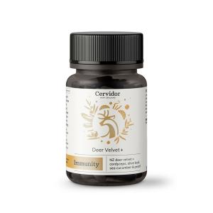 Cervidor复方鹿茸胶囊45粒 (含冬虫夏草,海参,珍珠粉&橄榄叶)