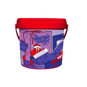 Cookie Time桶装圣诞限量版饼干 - 巧克力浓香味 600g(2020.6)