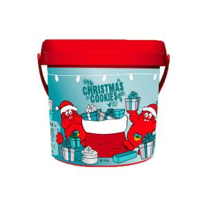 Cookie Time桶装圣诞限量版饼干 -焦糖口味 600g(2020.6)