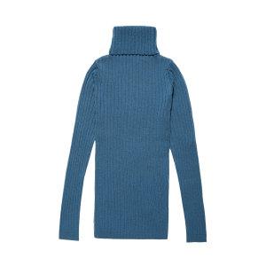 Wool Strip Knitwear Turt