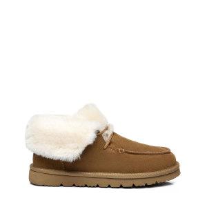 阿莱娜时装翻毛雪地靴