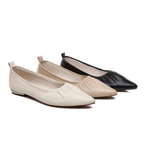 德琳娜女士尖头鞋