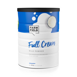 FARMFIELD牧菲德成人全脂奶粉900g (3罐包邮)