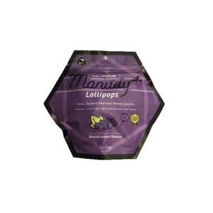 Finelogy Manudy+ 蜂蜜棒棒糖 黑加仑味 96g
