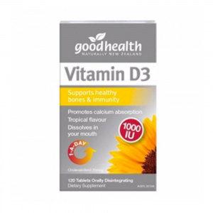 Good Health 好健康 维生素D3 120粒