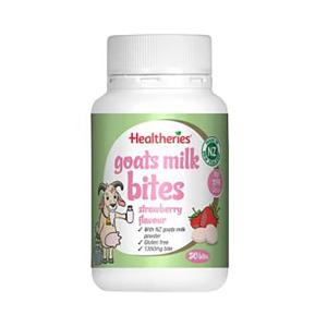 Healtheries 贺寿利 天然香浓羊奶片 草莓味 50片