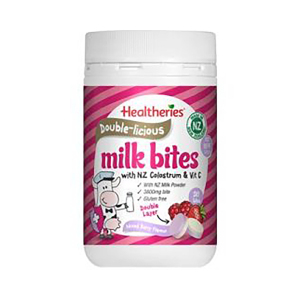Healtheries 贺寿利 双层奶片缤纷莓果味 50片
