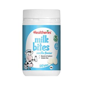 Healtheries 贺寿利香草味奶片50片 190g