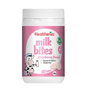 Healtheries 贺寿利草莓味奶片 50片 190g