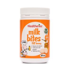 Healtheries 贺寿利蜂蜜味奶片 50片 190g