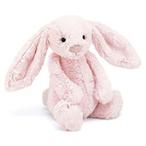 Jellycat 害羞系列邦尼兔 中号 浅粉色