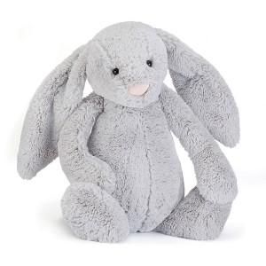 Jellycat 害羞系列邦尼兔 中号 银灰色