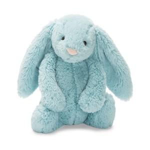 Jellycat 害羞系列邦尼兔 中号 - 湖蓝色