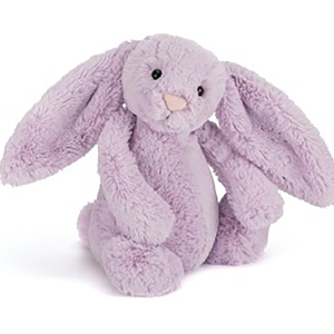 Jellycat  害羞系列邦尼兔 中号 紫蓝色