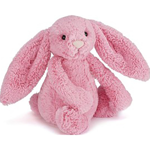 Jellycat 害羞系列邦尼兔 中号 - 梅红色