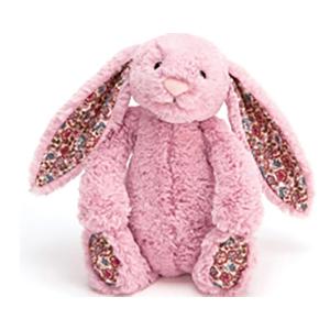 Jellycat 害羞系列邦尼兔 郁金香色 花耳朵 小号 18cm